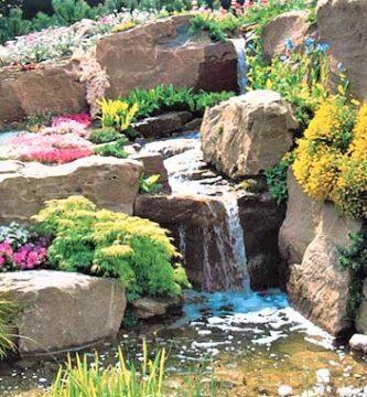 rocalla jardín