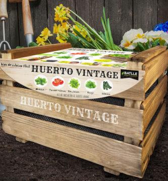 comprar huerto vintage