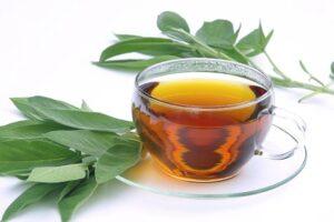infusión de hojas de laurel